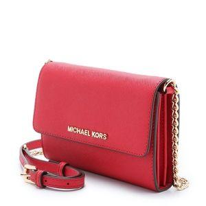 Michael Kors Jet Set Leather Crossbody Bag
